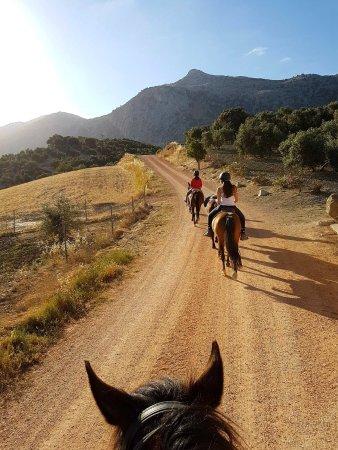 Villanueva del Trabuco, España: Balade matinale