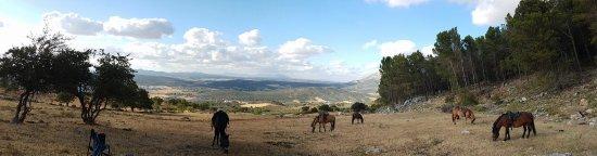 Villanueva del Trabuco, España: Pique-nique en soirée
