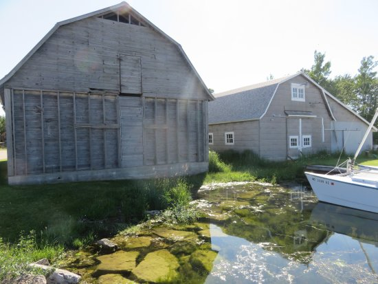 Washington Island, Ουισκόνσιν: Some buildings on the museum property are in need of restoration