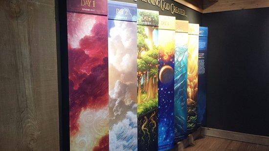 Ark Encounter Artists Exhibit 7 Days Of Creation