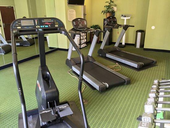Τσάρλεστον, Δυτική Βιρτζίνια: Fitness Center | Charleston Capitol Hotel