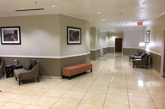 Renovated Lobby  | Charleston Capitol Hotel