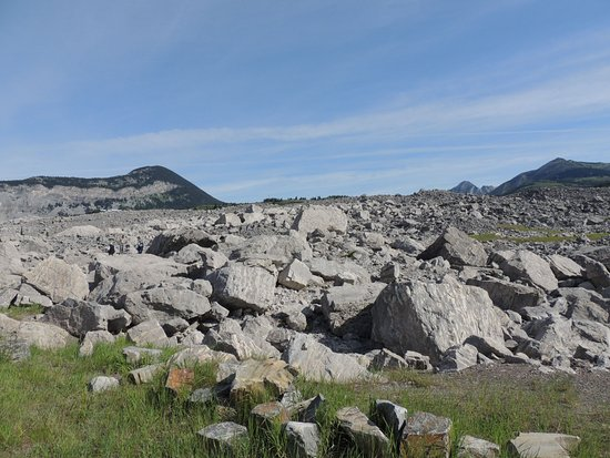 Crowsnest Pass, Καναδάς: And the mountain came tumbling down