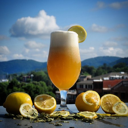Lexington Avenue Brewery: White Pony, our white IPA, brewed with 17lbs of lemon peels and dry hopped with el dorado and ci