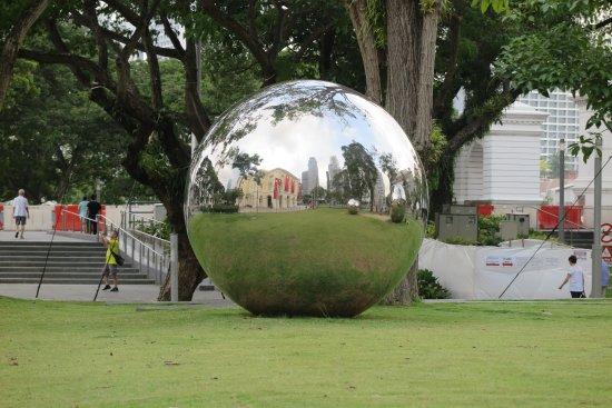 Μουσείο Ασιατικών Πολιτισμών: Outside