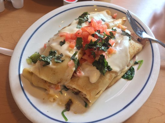 New Carrollton, MD: My Crepe ... It looked better than it tasted.