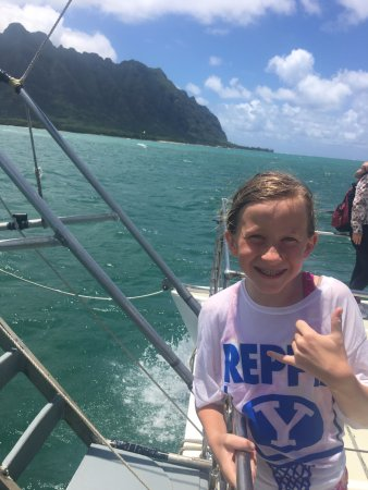 Kaneohe, HI: She saw 13 Sea Turtles!!