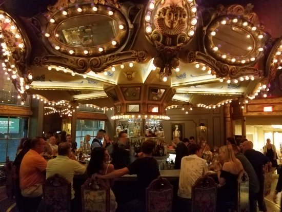 Cool bar, if you get a seat :) - Picture of Carousel Bar, New ...