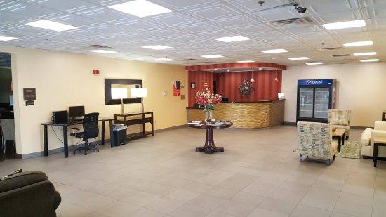 Renovated Lobby | Charleston Plaza Hotel