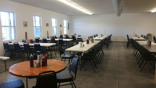Clinton, MO: Banquet room