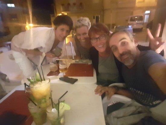Guardiola de Bergueda, Spain: Sopar amb amigues