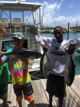 Turtle Cove, Providenciales: Nice tuna!