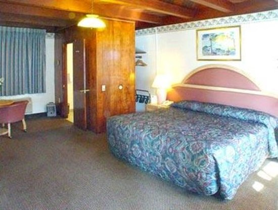 Cloverdale Oaks Inn: Large Single King Room Non Smoking