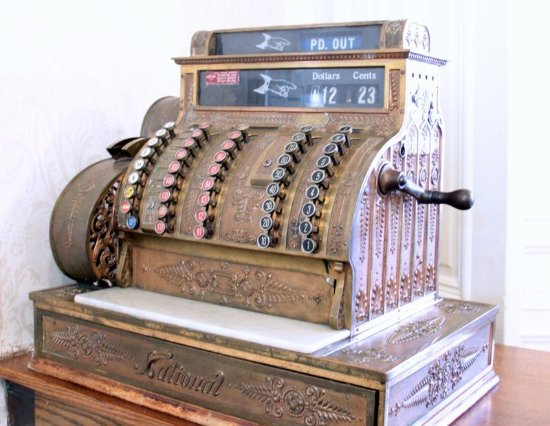 Red Wing, MN: Antique Cash Register