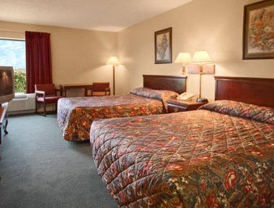 Americas Best Value Inn- Galesburg : Standard Two Double Bed Room
