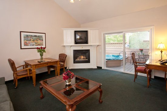 Sycamore Mineral Springs Resort and Spa: West Meadows Blissfullivingroom