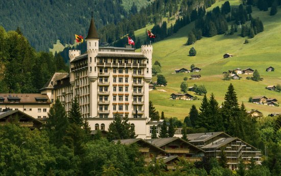 Gstaad Palace Hotel: Summer Gstaad Palace
