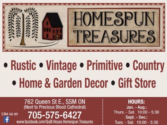 Homespun Treasures