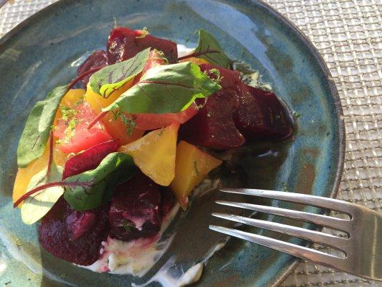 Tivoli, NY: Beet salad