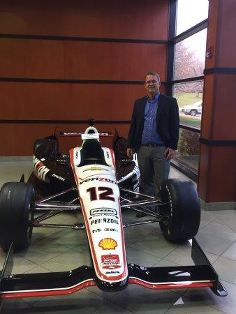 Penske Racing South Facility: open wheel car