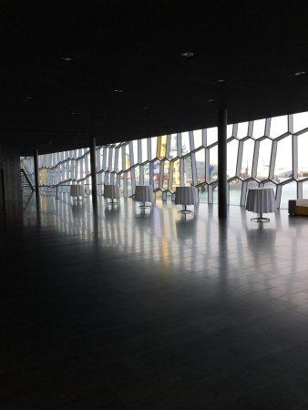 Icelandic Opera (Islenska Operan) : Beautiful windows in the Opera House