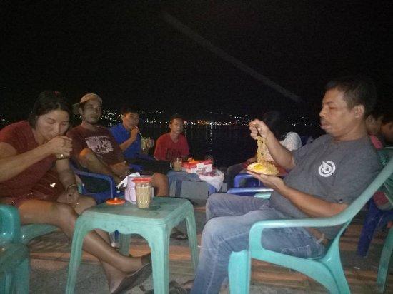 TALISE BEACH AT NIGHT