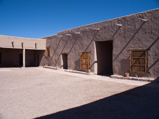 Fort Leaton: Inside courtyard