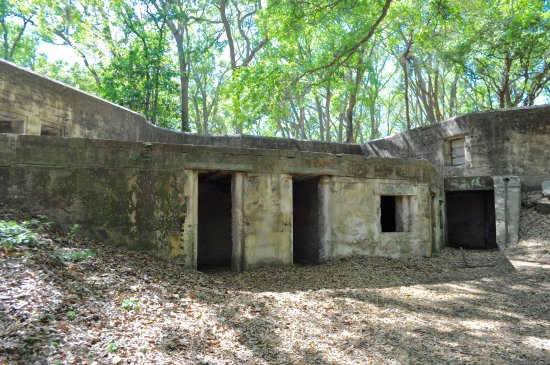 Fort Fremont on Saint Helena Island