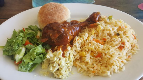 Canouan: Daily changing local specials