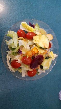 Salina, UT: Salad - build own side salad from salad bar