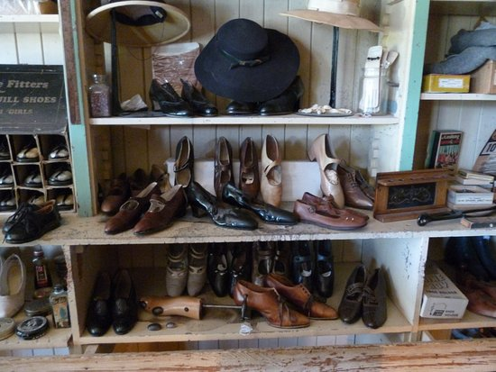 Harrison Mills, Canada: I'm a shoe fan! From the store - part of the museum