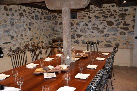 Greenock, Austrália: VIP Tasting in the original cellar