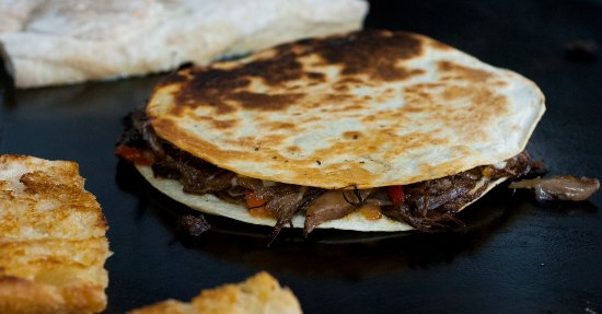 Nuevo Arenal, Costa Rica: Duck quesadillas grilled to perfection