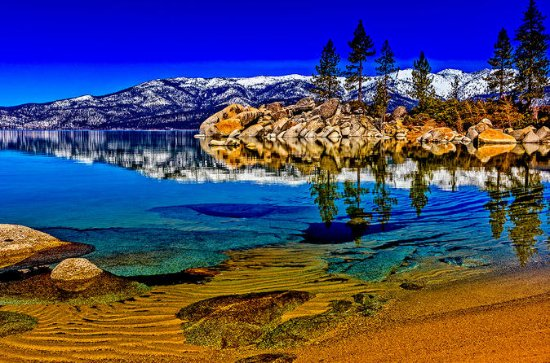 Lake Tahoe halbprivate Fotografie-Tour