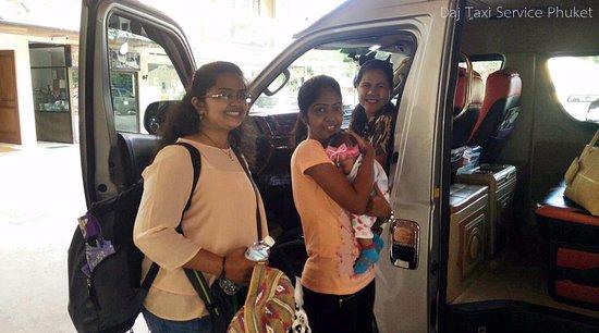 Rawai, Tailandia: My customer from India traveling in Phuket