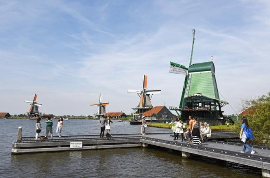 Zaanse Schans Tour from Amsterdam