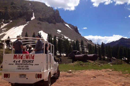 La Plata Canyon Jeep Tours from