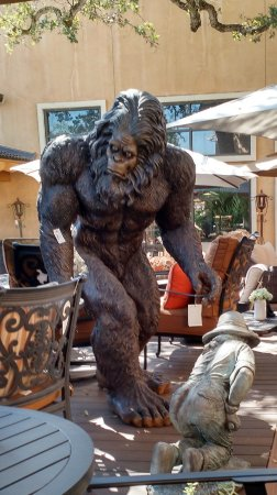 Rocklin, CA: Something for everyone; take home your own Sasquatch.