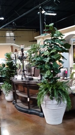 Rocklin, CA: Super selection of realistic, large faux trees.