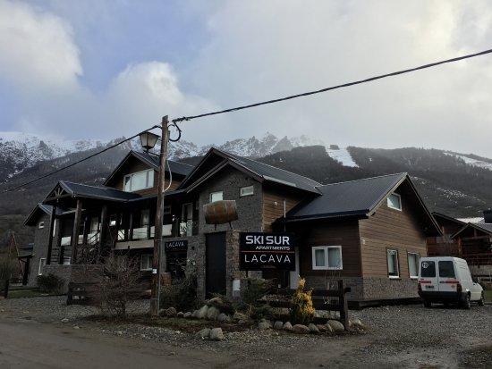 Ski Sur Apartments: frente do Ski SUR