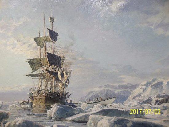 Cape Cod Maritime Museum: Work of Artist John Stobart