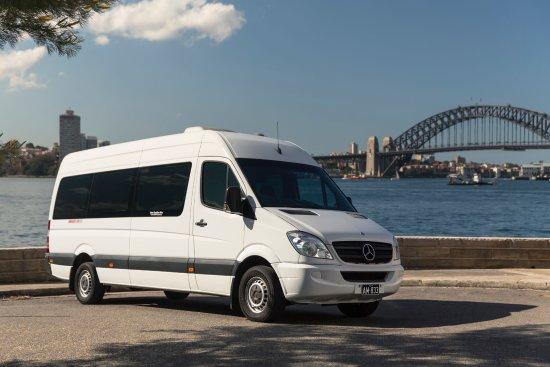 Astra Chauffeur Drive: Mercedes Benz Sprinter (14 Seater)