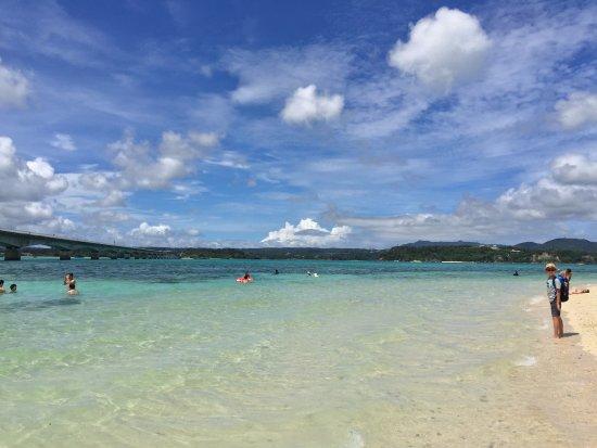 Nakijin-son, Japón: Kouri beach