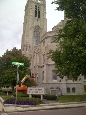 Indianapolis Cultural Trail: Scottish Rite Cathederal