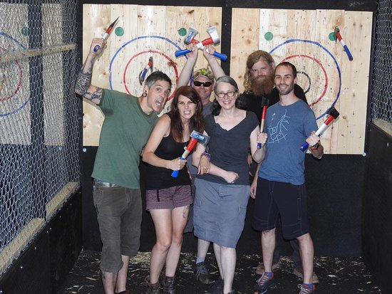 Valhalla Indoor Axe Throwing