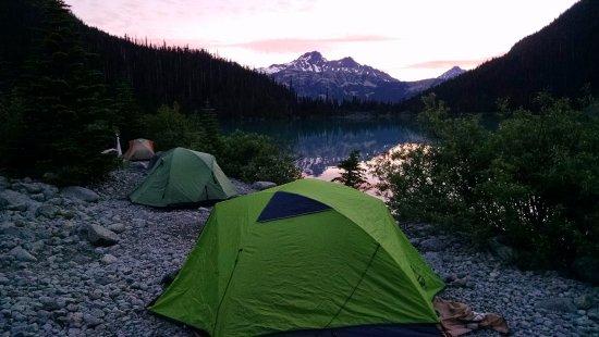 Pemberton, Kanada: Sunrise Campsite