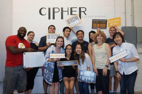 Cipher Escape Rooms