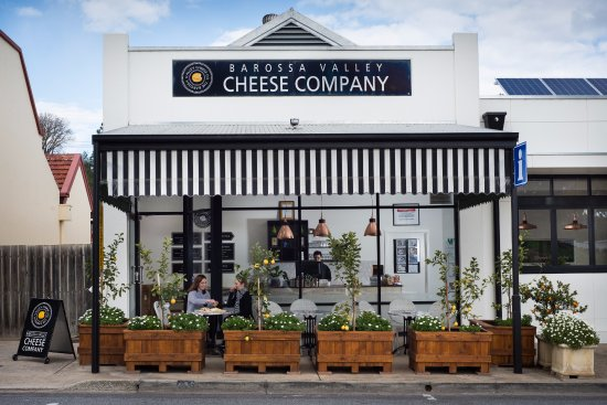 Barossa Valley Cheese Company, main street of Angaston, a short 1 hours drive from Adelaide, SA