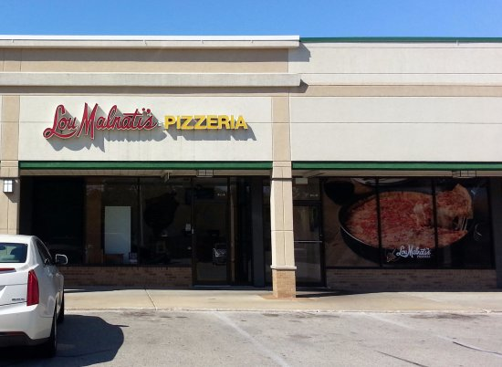 Park Ridge, Ιλινόις: front of & entrance to Lou Malnati's Pizzeria