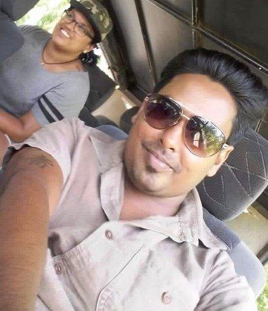 Lanka Beach Holidays: At the jeep at Wilpattu Park